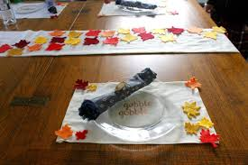 thanksgiving placemat crafts no sew thanksgiving table runner and placemats u2013 home info