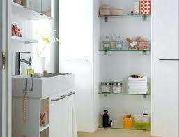 White Bathroom Shelves - ladder style bathroom shelf wooden sturdy shelving wall mounted