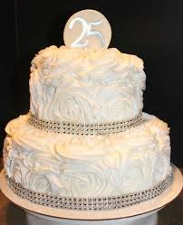 the 25 best 25th wedding anniversary cakes ideas on pinterest