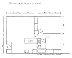 Willow Floor Plan by Willow Grove Apartments In Pewaukee Wi Decker Properties