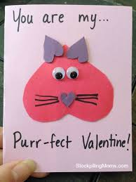 valintine cards you are my purr fect card