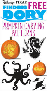 Halloween Carving Stencils Printable Free by Free Finding Dory Pumpkin Carving Patterns To Print