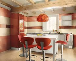 small red kitchen design fantastic home design
