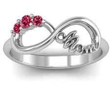 mothers day ring with birthstones our family is a circle of personalized bracelet circles