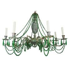 decor mesmerizing upcycle white wood stained beded chandelier
