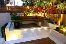 L Shaped Garden Design Ideas Lighting Ideas Lighting Style In Front Of Brick