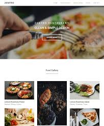 food templates free download zentro bootstrap template zentro bootstrap template free download