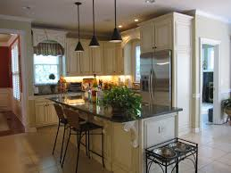 Refinish Kitchen Cabinets Ideas Refinish Kitchen Cabinets Gray Wooden Kitchen Island And Brown
