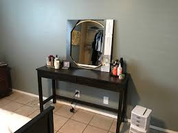 ana white makeup vanity with drawers from modified tiny house