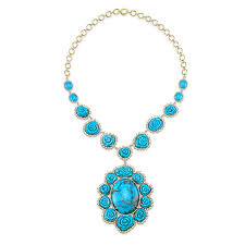 long turquoise pendant necklace images Glamorous turquoise jewelry for a blue christmas ny jck online jpg