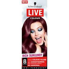buy live colour rich burgundy 1 ea by schwarzkopf online priceline