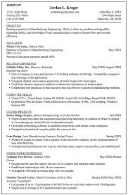 Homemaker Resume Sample by Manufacturing Engineering Resume Samples Http Exampleresumecv