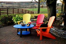 Recycled Plastic Adirondack Chair Classic Folding Adirondack Chair Recycled Plastic Regarding