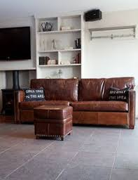 Distressed Leather Sofa by The Perfect Carmel Leather Sofa Irving Place Heston Leather Sofa