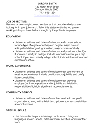 Resume Template For Students First Job by 4 Job Resume For First Job Ledger Paper