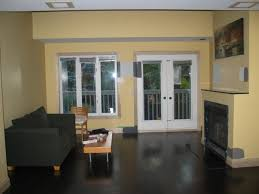 simple living room colors for dark wood floors a beautiful with