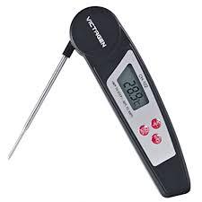 termometri a sonda per alimenti victagen termometro elettronico per alimenti con sonda in acciaio