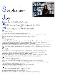 Movie Theatre Resume Blue Resume