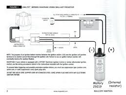 mallory distributor wiring diagram ignition pin with pictures