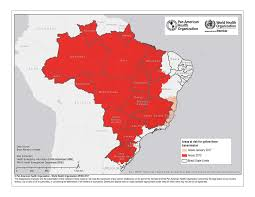 Latin And South America Map by South America Map Yellow Fever Cdc