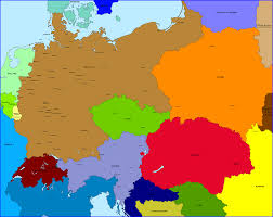 Map Of Central Europe Map Of Europe In 1914 Before The Great War World War I Image