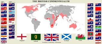 British Flag Nickname British Commonwealth Atlas Alternative History British Empire