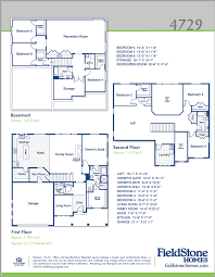 big homes for sale in utah fieldstone homes this floor plan has 4 bedrooms 2 5 bathrooms and 4729 total square feet materials vary from each community