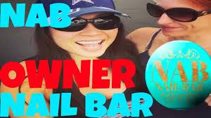 nab nail bar nails las vegas owners speech grand opening