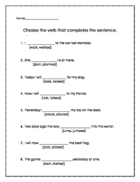 verbs fill in the blank fill in the blank are is fill in the