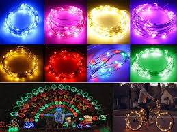 Battery Operated Light Strings by 3m Copper Wire Led Light Starry Wedding String Fairy Party Lamp
