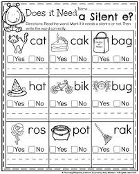 free first grade phonics worksheets worksheets