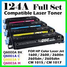 Toner Mcm hp 124a q6000a q60001a q6002a q6003a compatible toner