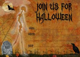 halloween invitations free templates u2013 festival collections