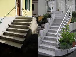 revetement pour escalier exterieur pierres actuelles friess aménagements extérieurs