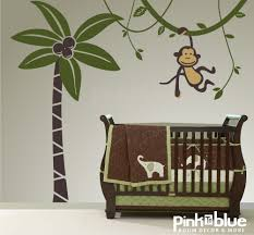 28 monkey wall stickers for nursery hanging monkey wall monkey wall stickers for nursery etsy your place to buy and sell all things handmade