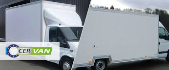 small light cer trailers c e remorques cer van boxes for trucks