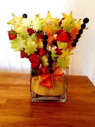 how to make fruit arrangements diy fruit bouquet with watermellon green grapes and honeydew