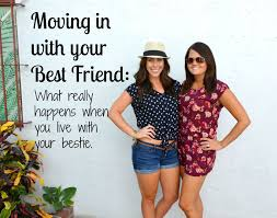 live together samantha rose says moving in with your best friend what really