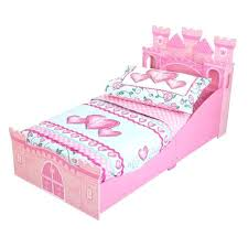 Pink Toddler Bedding Bookcase Kidkraft Princess Girls Toddler Bed In Pink Kidkraft