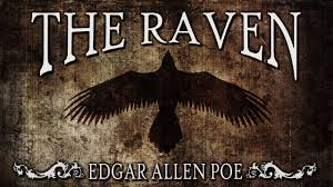 Creepy Halloween Poem The Raven Edgar Allan Poe Classic Horror Halloween Scary