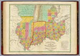 Maps Of Illinois by Map Of Illinois And Michigan Michigan Map