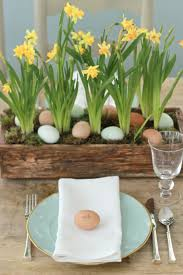 Easter Table Decorations Ideas easter table decorations with easter pot and unique decoration and