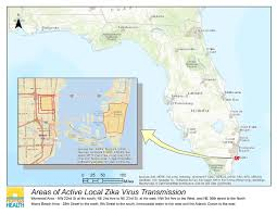 Florida Beach Map by Department Of Health Daily Zika Update Florida Department Of Health
