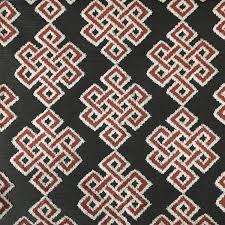 Geometric Drapery Fabric Interior Designer Pattern Fabric Collection Top Fabric
