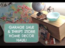 Home Decor Thrift Store Garage Sale U0026 Thrift Store Haul Home Decor Toys And Books