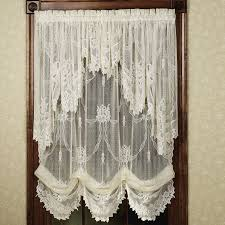 how to make a balloon shade curtain eyelet curtain curtain ideas