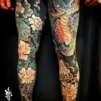 olio hannya tattoo by joshcartertattoo from fifth estate tattoo