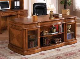 Building Wooden Computer Desk by Stylish Executive Computer Desk Top Interior Design Plan With