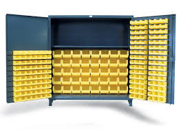 Yellow Storage Cabinet Strong Hold Products Xl Bin Storage Cabinet