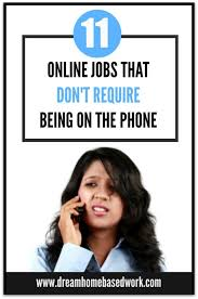 Non Desk Jobs For Women Online Jobs That Don U0027t Require Being On The Phone